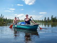 Canoeing Questions and Tips for Beginners. Photo credit: Linus Behrmaan.