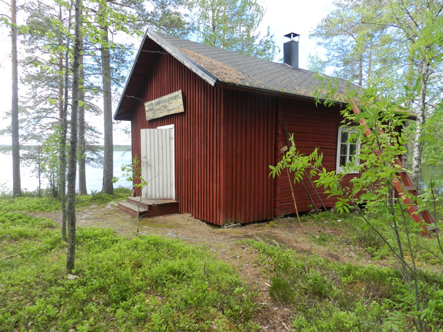 The cabin was a welcome sight! Photo: Jayne Nature Travels
