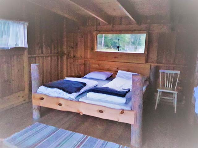 Beds in the Floating Cabin.