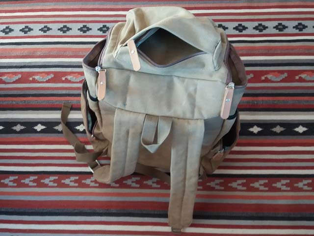 Bagail Retro Camping backpack.