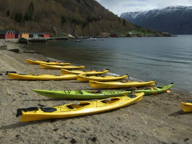 Double kayaks offer a good amount of storage and are very stable.