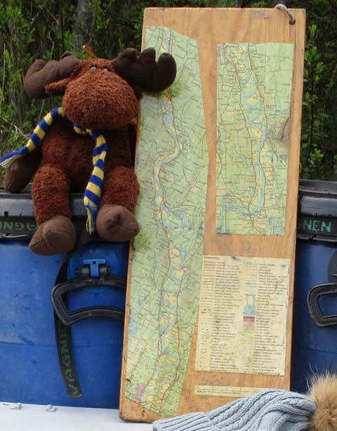 A map is provided as well as a detailed route description.