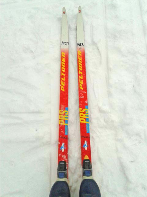 Cross country skis.