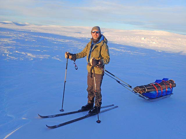 Nordic touring skis are slightly wider and more stable than cross country skis and the boots are more similar to hiking boots.
