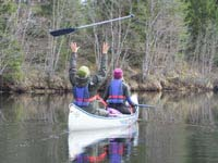 Where to go canoeing and kayaking in spring.