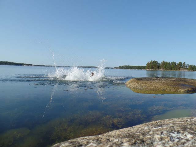The lakes and archipelago waters of the Nordic countries are wonderful for swimming in summer.