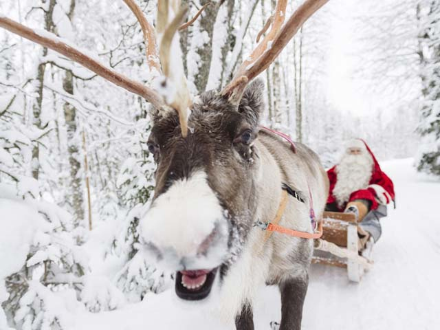 Everyone (!) knows that Santa Claus lives in Finland rather than at the North Pole!