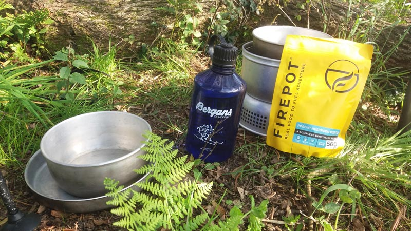 Review of Firepot dehydrated meals for outdoor adventures. Photo: Nature Travels.