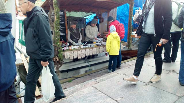 Herring market.