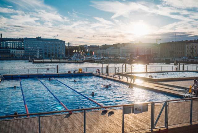 Allas Sea Pool. Photo: Julia Kivela Visit Finland.