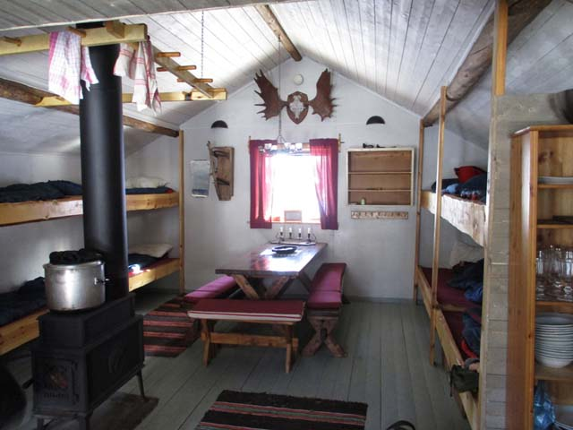 Cabin-to-cabin dogsled tours will typically feature overnight accommodation in simple but cosy wilderness cabins.