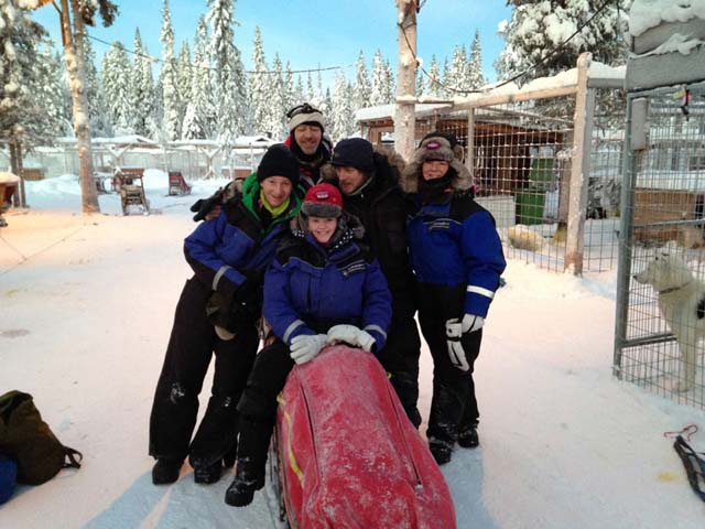 While more challenging tours are suitable for adults only, some of our dogsled tours are also ideal for families.