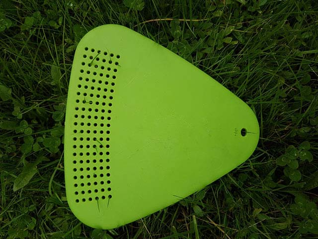 The combined chopping board/strainer has been a feature of Light My Fire mealkits for many years.