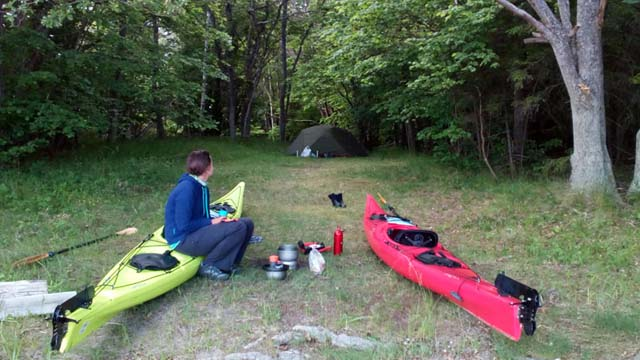 The Right of Public Access offers the wonderful freedom to camp wild during your tour.