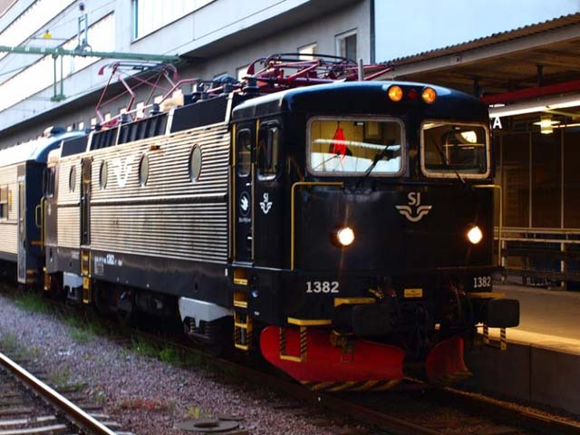 Train in Sweden.