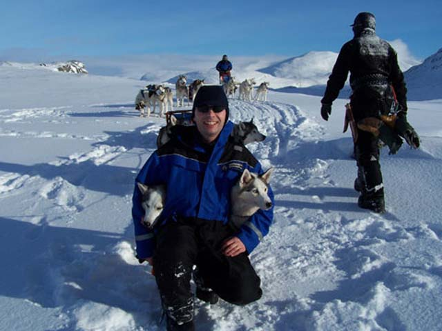Specialist winter clothing is provided for all our dogsled tours, meaning you don't need to bring bulky clothes with you.