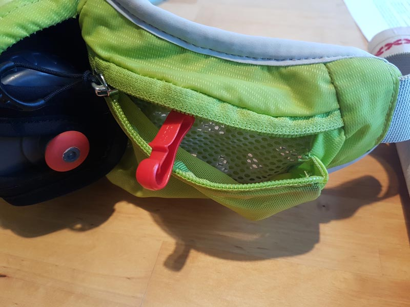 Review of Osprey Rev Solo Hydration Belt. Photo: Nature Travels.