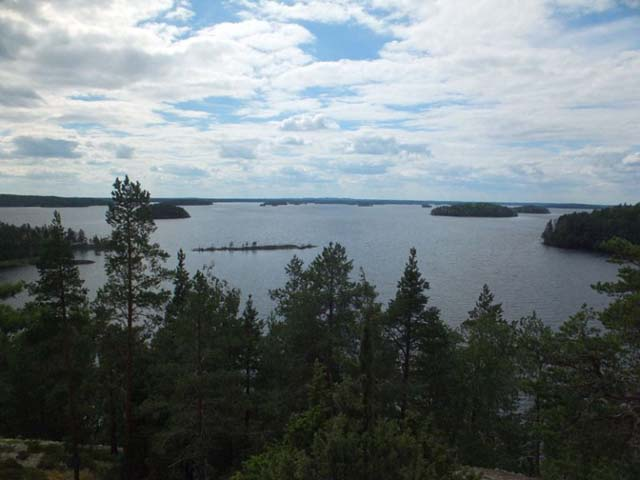 Lake Saimaa, home to the Ringed Seal.