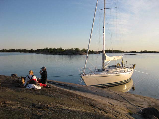 Sailing in the Stockholm Archipelago. Photo: VOV.