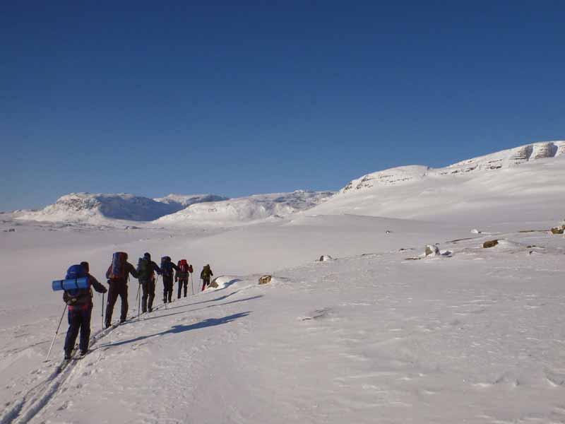 Discover Mountain Ski Touring in Lapland. Photo: Maurice Strubel.