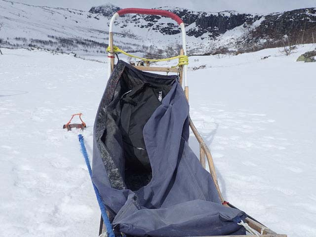 Any piece of luggage which fits well in a dogsled goes down well with us!
