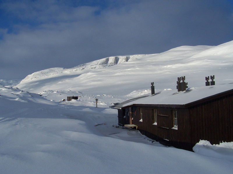 The mountain cabins along the route provide a welcome refuge from the wilderness. Photo: Nature Travels.