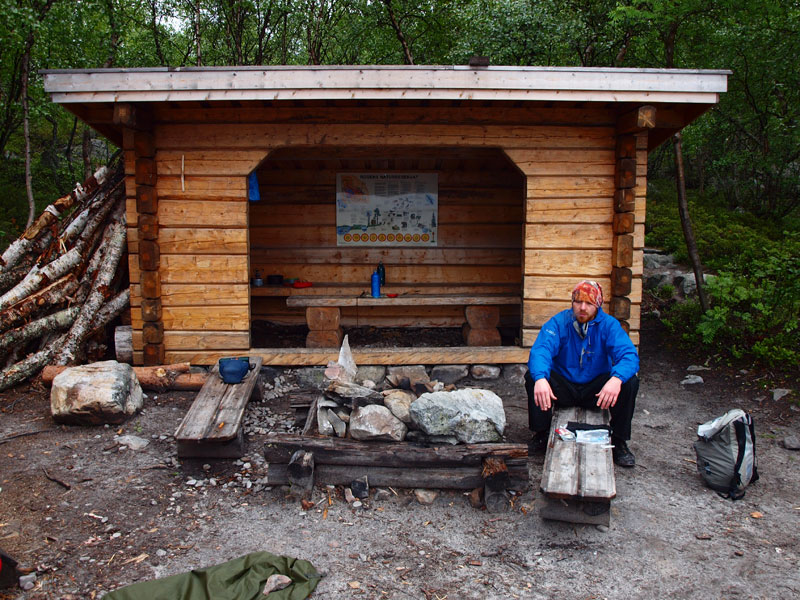 The network of wild shelters, with firewood provided, is a great resource. Photo: Bob Nature Travels.