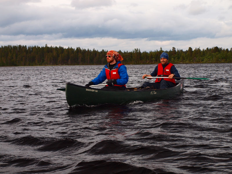 Into The Wild - Canoeing in Rogen Nature Reserve, Sweden. Photo: Bob Nature Travels.