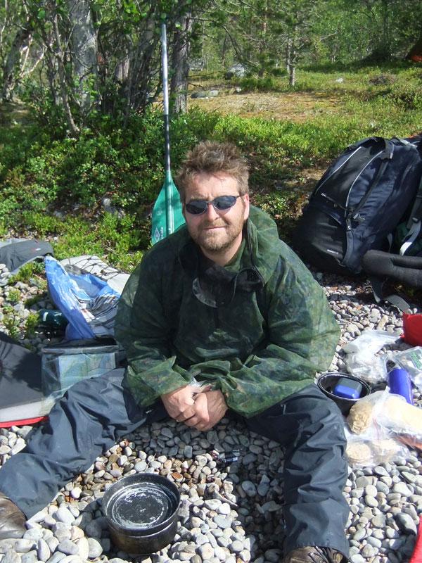 Euan enjoys the sunshine. Photo: Bob Nature Travels.