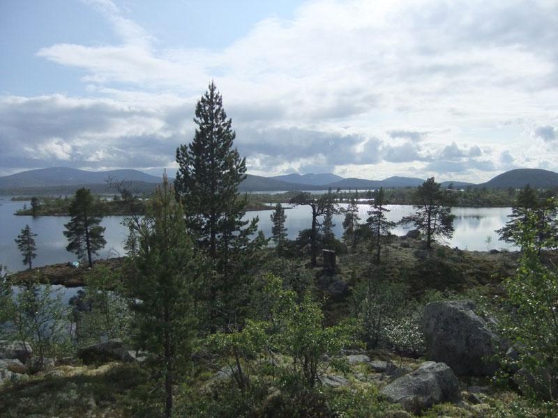 View over Bredasjön. Photo: Bob Nature Travels.