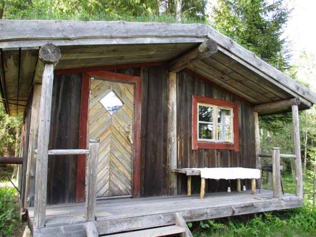 One of the Forest Cabins.