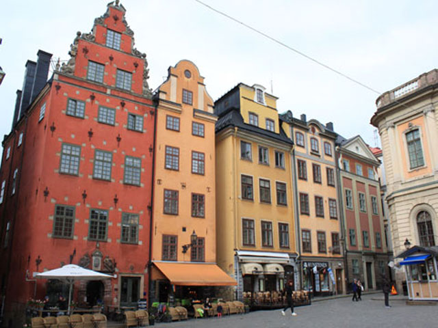 Stockholm's Old Town, Gamla Stan.
