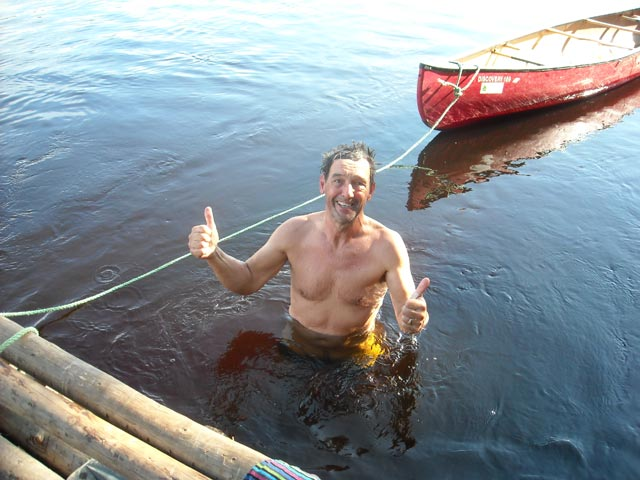 A refreshing dip is one of the great joys of a Nordic summer.