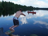 Wild Swimming on a Nordic Summer Holiday.