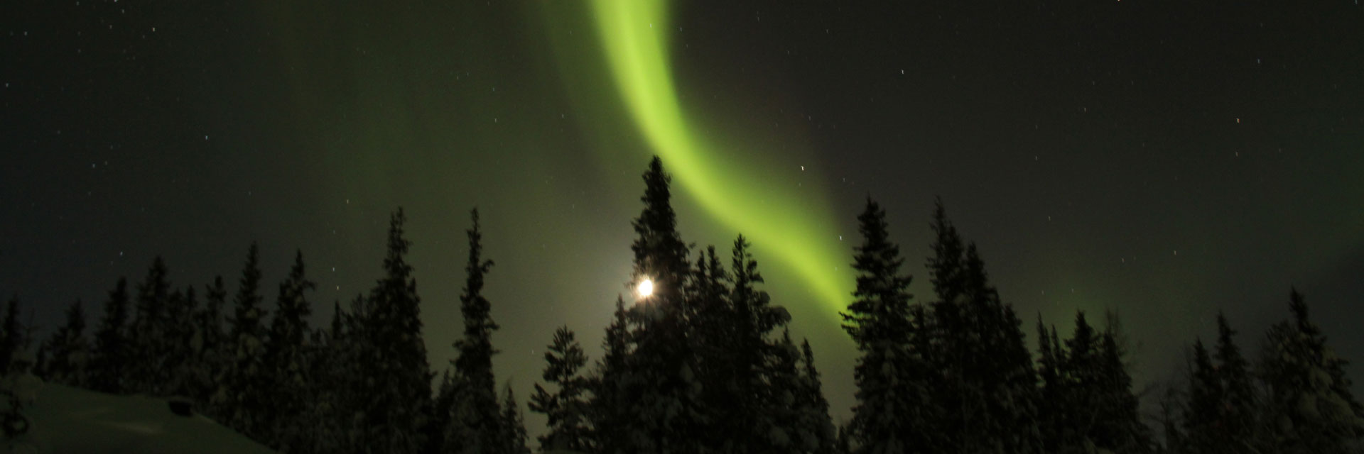 Aurora Lodge Escape in Lapland