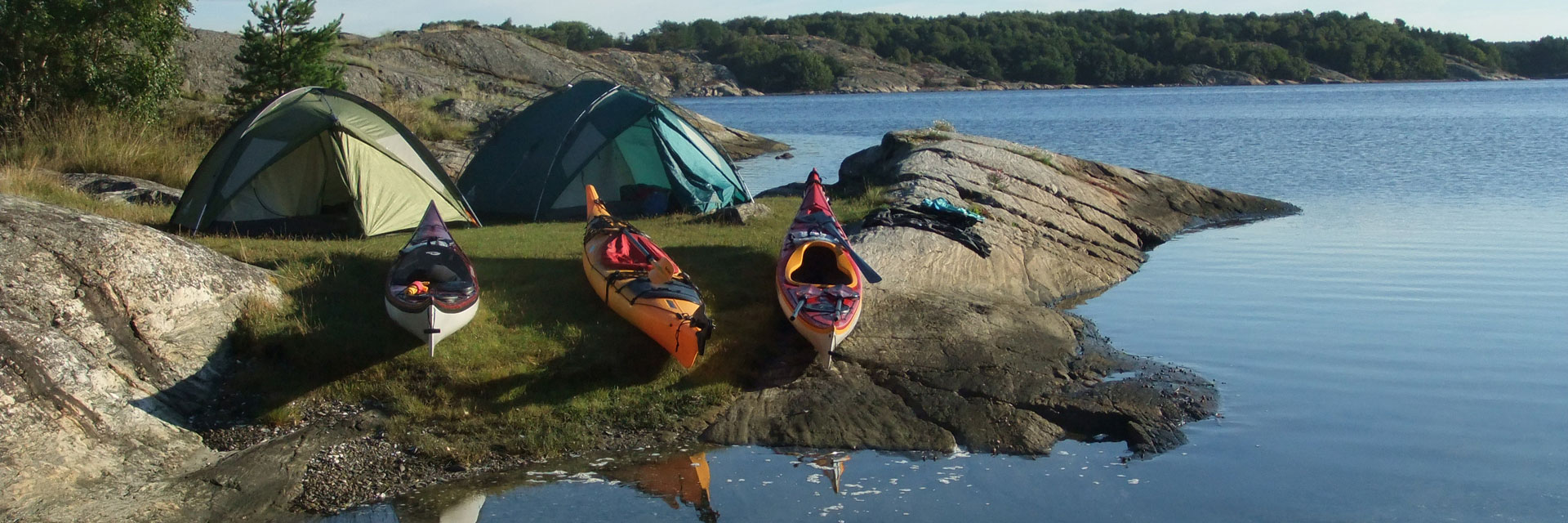 Self-guided Sea Kayaking in Bohuslan