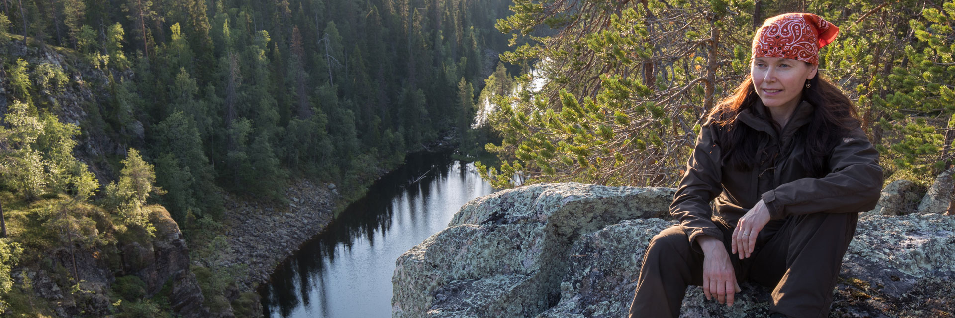 Hiking in the Finnish-Russian Borderland