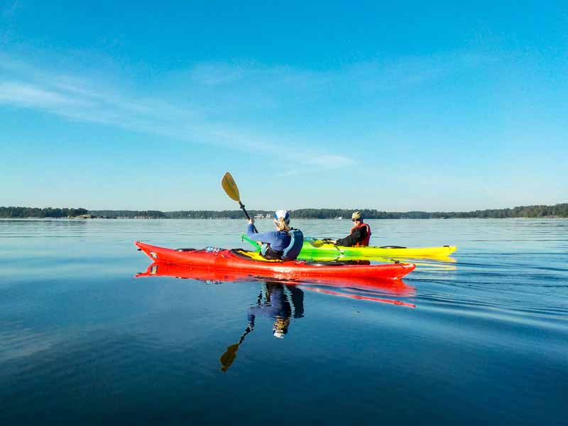 Self-guided Sea Kayaking in the Helsinki Archipelago