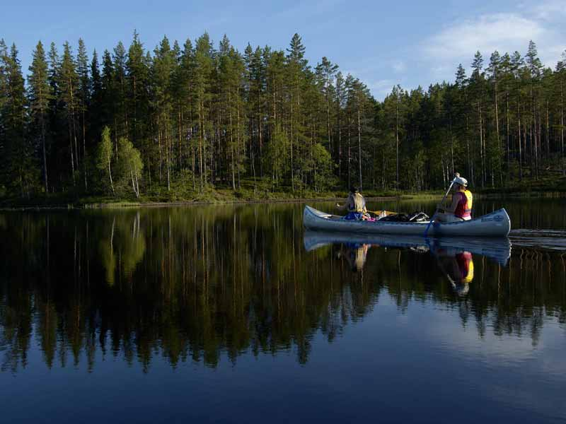 Canoe Tours on Svartälven in Sweden | Nature Travels