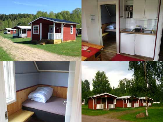 Camping cabin accommodation