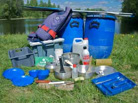 Canoe equipment