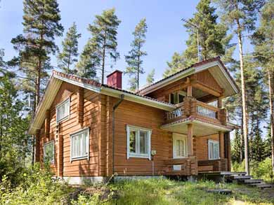 Waterside Cabin in the Lapland Mountains   Nature Travels