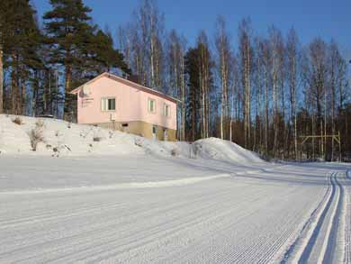 Romantic Winter Cabin with Sauna in Paijanne Tavastia
