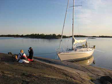 Sailing in the Stockholm Archipelago