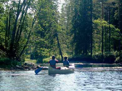 Canoe Tours on Rottnan/Röjdån