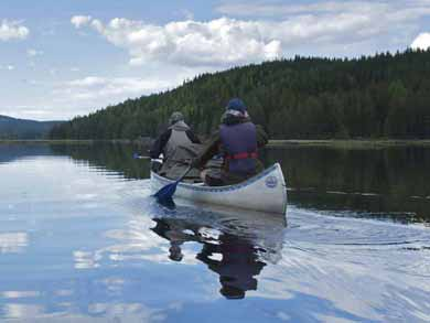 Canoe Tours in Bergslagen