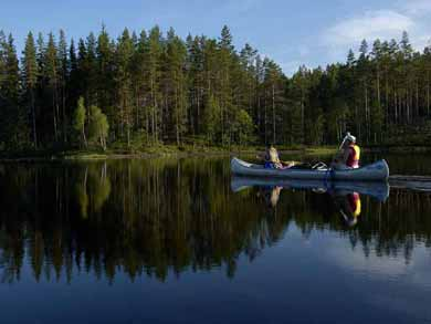 Canoe Tours on Svartälven