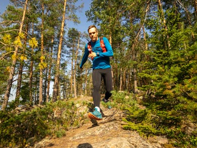 Trail Running, Saunas and Packrafting in Southern Finland