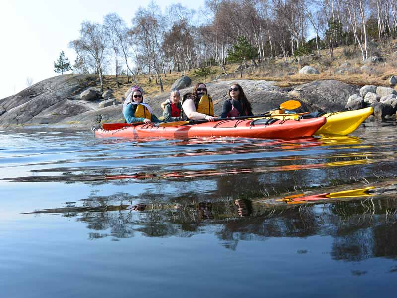 Self-guided Kayaking in Lysefjord