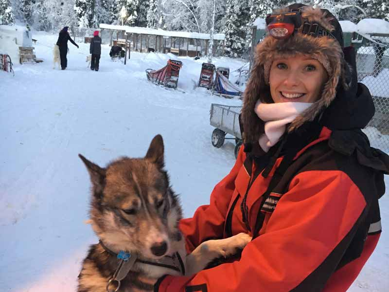 One-day and Overnight Husky Tours in Kiruna
